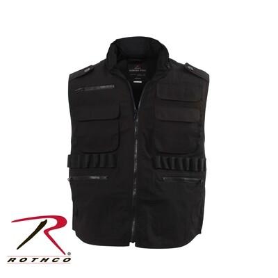 Rothco, 7557-S, Black Ranger Vest