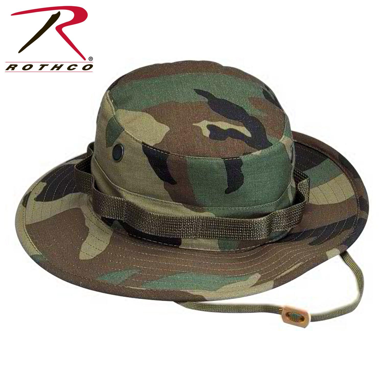 Rothco, 5800, Woodland Camo Boonie Hat