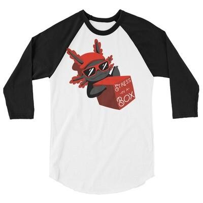 Stressinabox Unisex 3/4 Sleeve Raglan Shirt