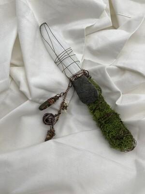Selenite Cleansing Dagger