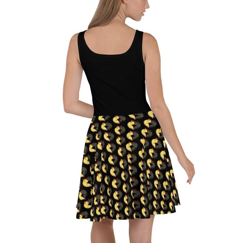Blink & Toothless Skater Dress