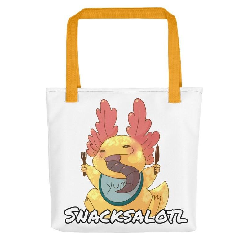 Snacksalotl Tote bag