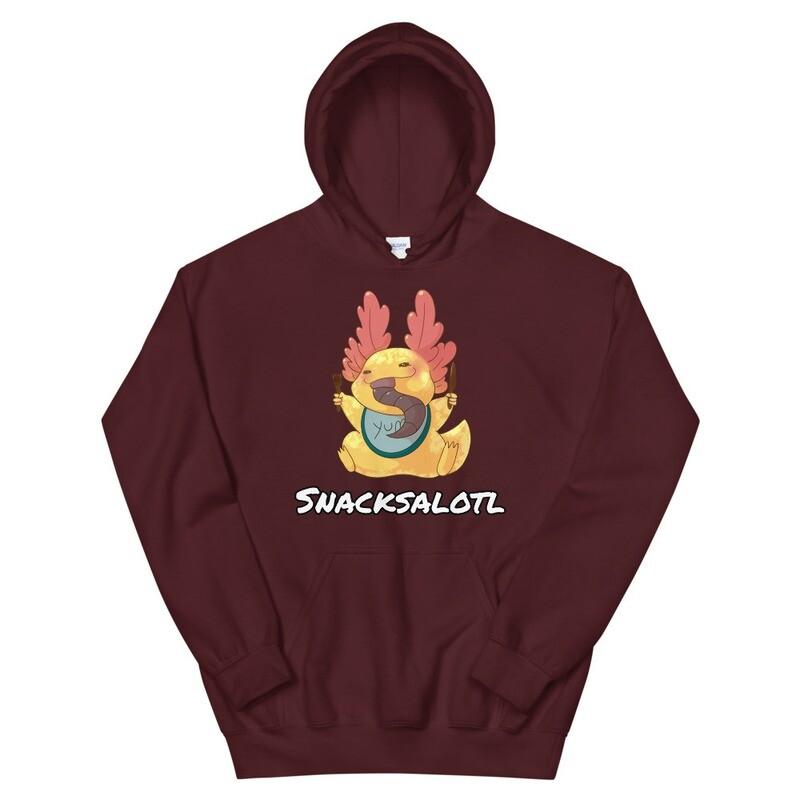 Snacksalotl Unisex Hoodie