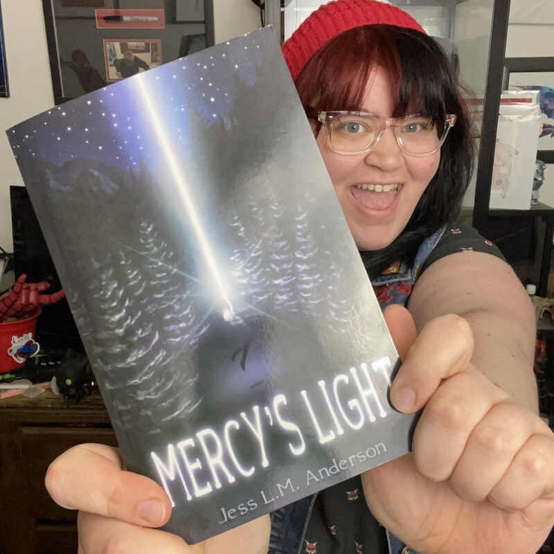 Signed First Edition Paperback of Mercy's Light