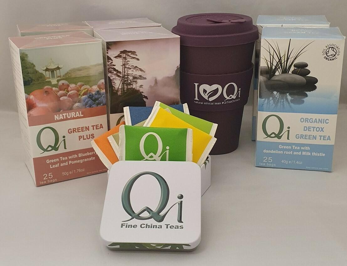 Qi Cleansing Tea bundle