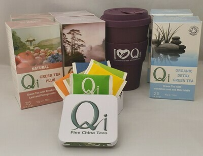 Qi Cleansing Tea bundle