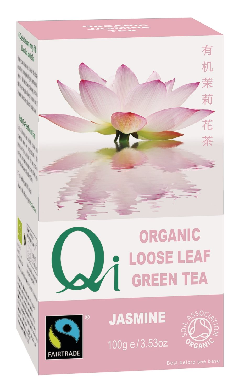 Qi Organic Jasmine Loose Leaf Tea