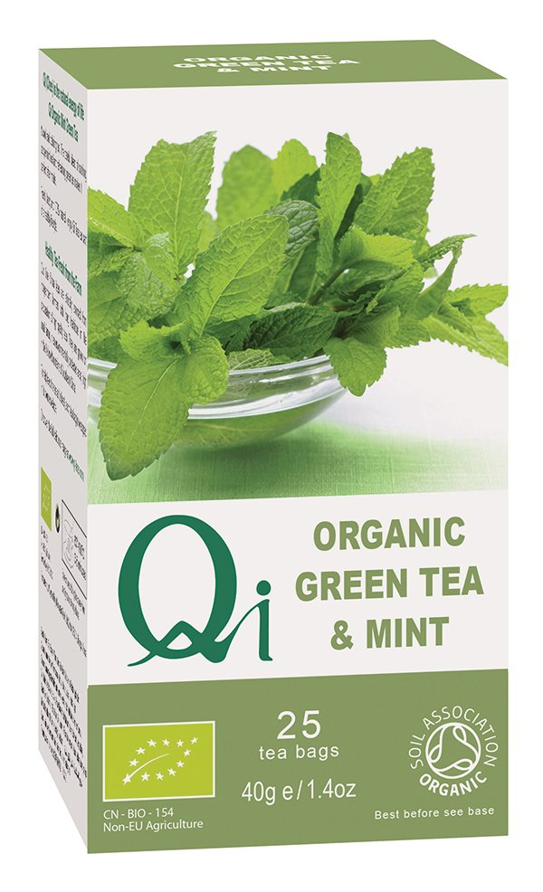 Qi Organic green Tea & Mint