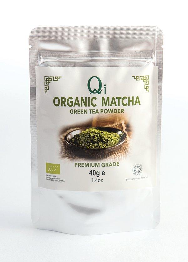 Qi Organic Matcha Green Tea Powder