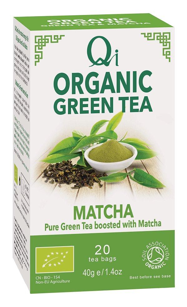 Qi Organic Green Tea & Matcha