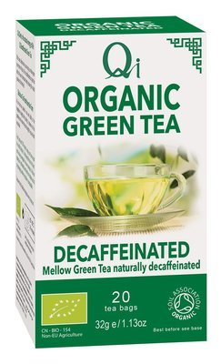 Qi Organic Green Tea Decaffeinated