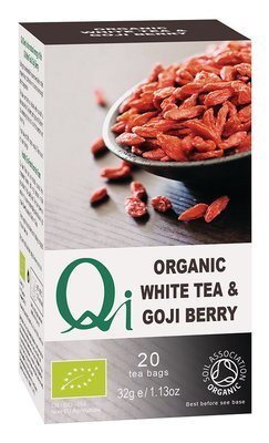 Qi Organic White Tea & Goji Berries
