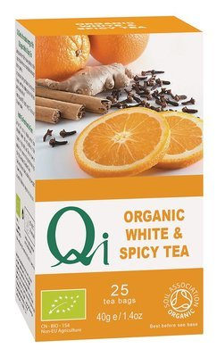 Qi Organic White & Spicy Tea