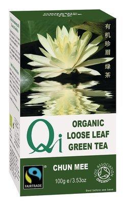 Qi Organic Loose Leaf Chun Mee Tea