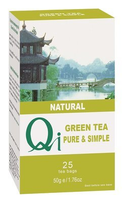 Qi Green Tea Pure & Simple