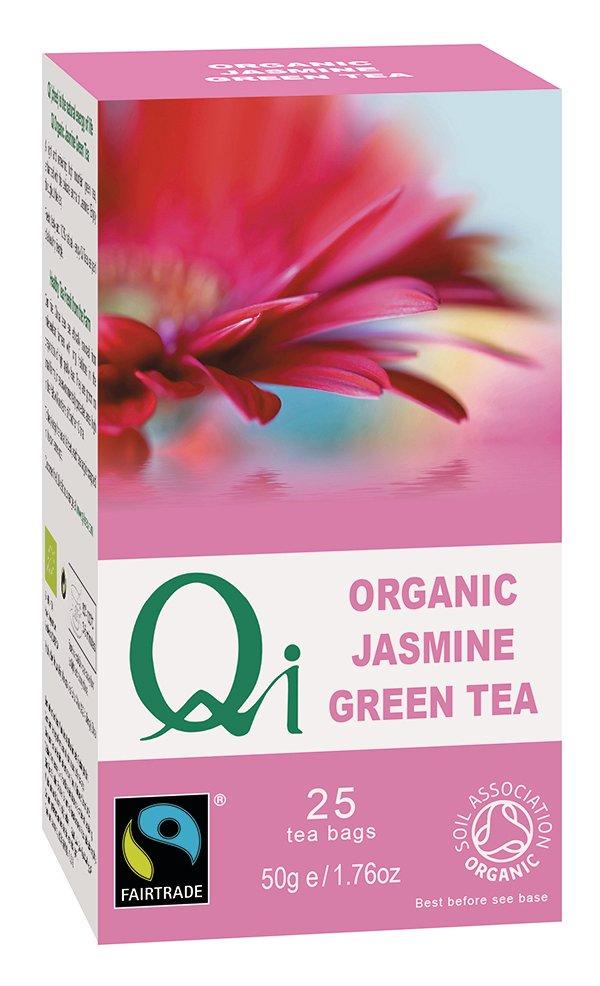Qi Organic Jasmine Green Tea