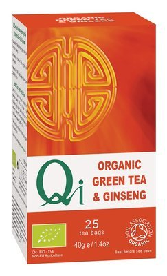Qi Organic Green Tea & Ginseng