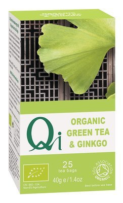 Qi Organic Green Tea & Gingko