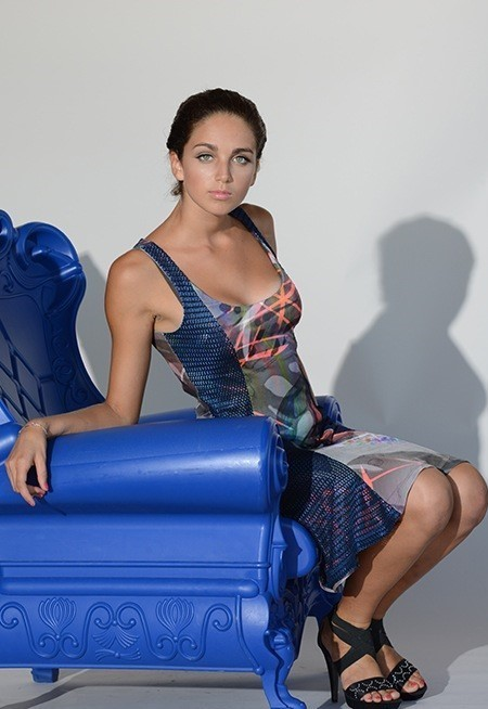 Eroke Italy: Midnight Color Storm Dress (2 Left!)