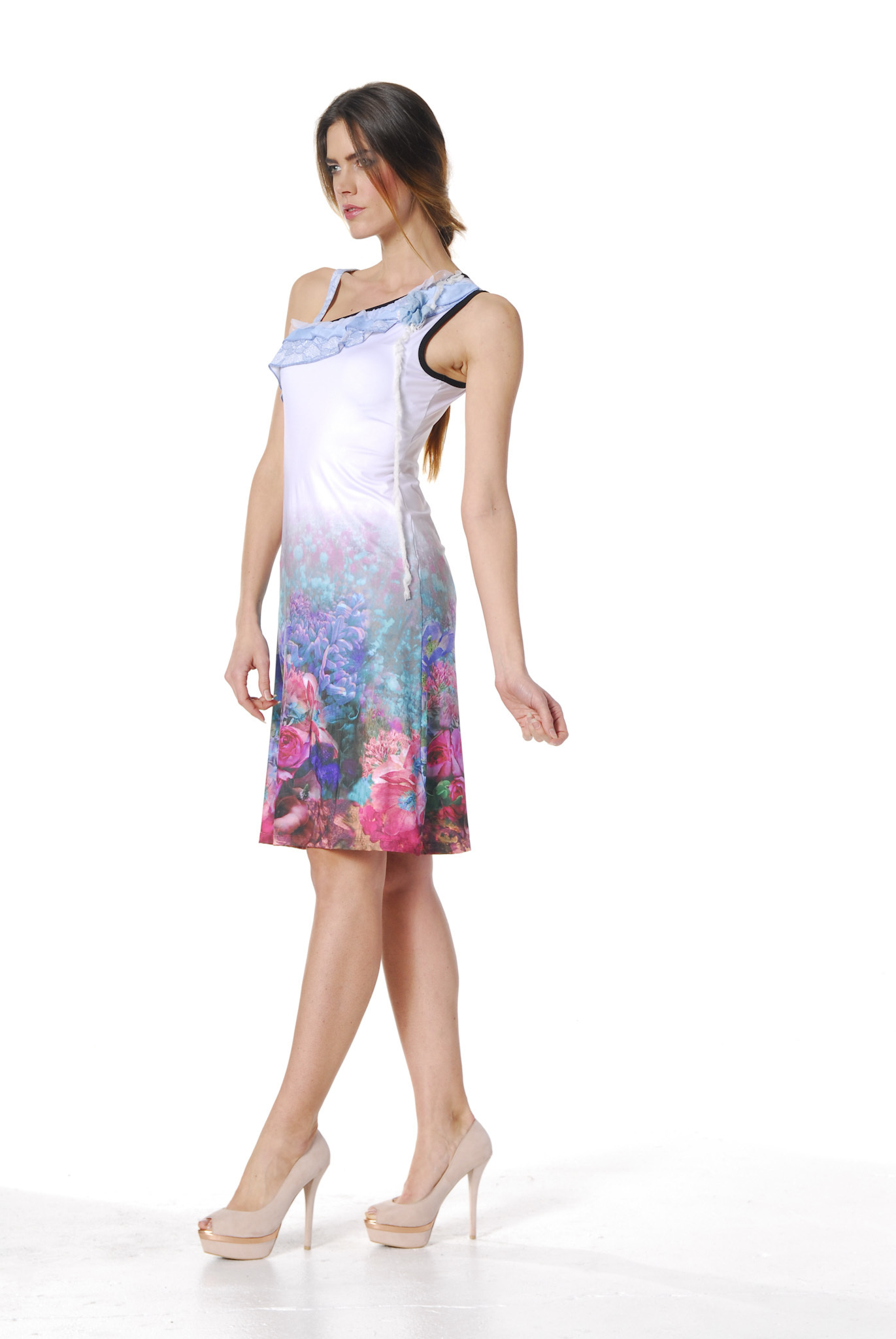 Les Fees Du Vent Couture: Fuschia Fairytale Sundress