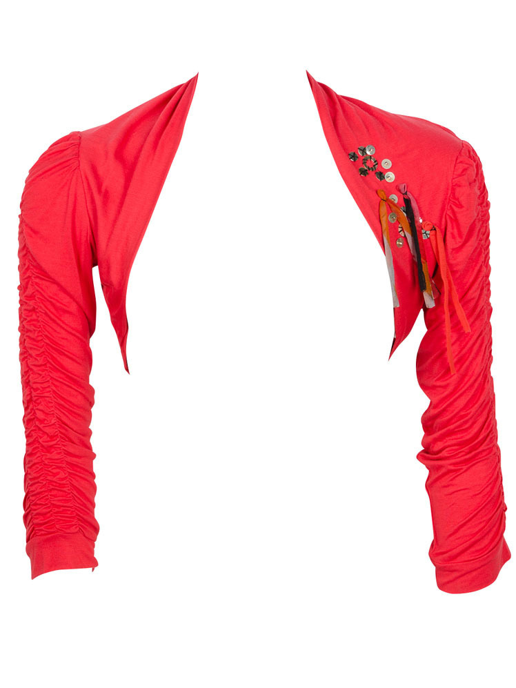 Les Fees Du Vent Candy Wrapped Bolero (Red Only Left!) LFDV_886313_N