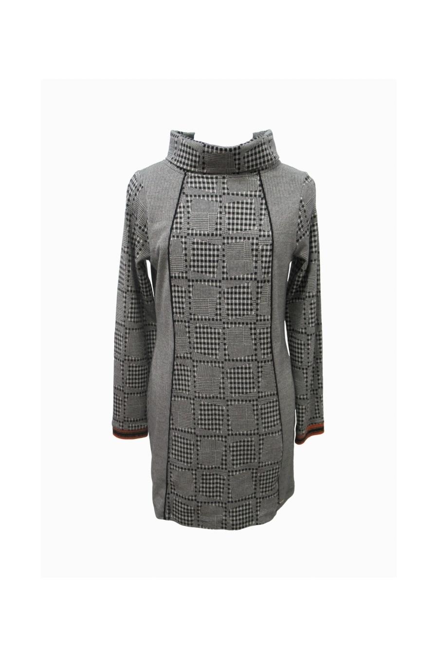 Maloka: Boxed Beauty Jacquard Tunic/Dress