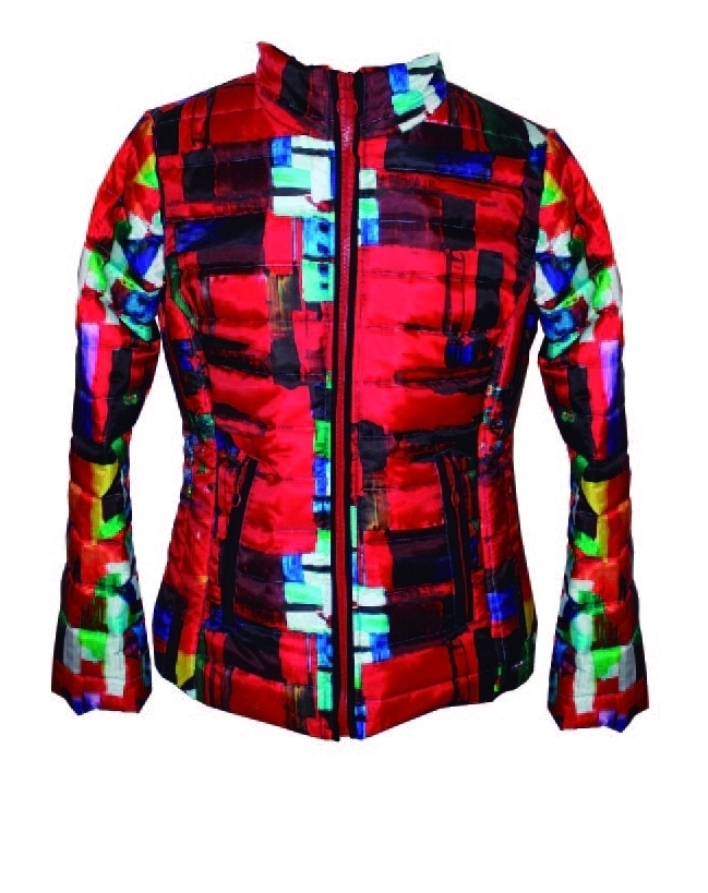 Maloka: Magic Cube Abstract Art Jacket