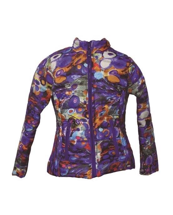 Maloka: Magic Cube Abstract Art Jacket SOLD OUT