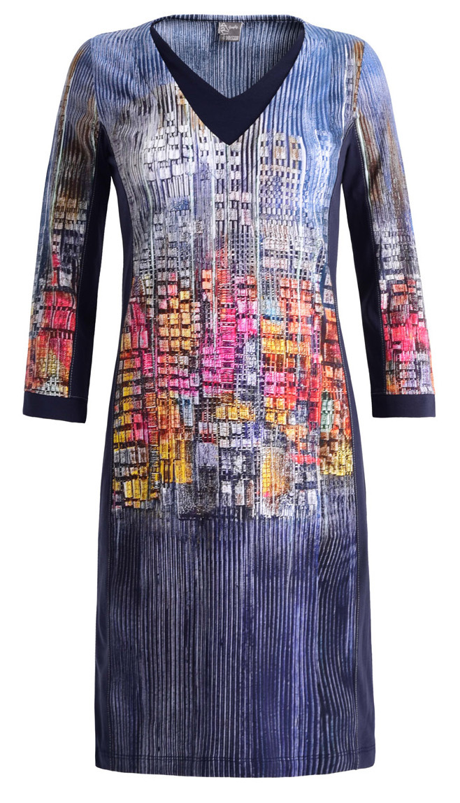 Simply Art Dolcezza: Papillons Of The Night Abstract Art Dress SOLD OUT Dolcezza_SimplyArt_59733_N