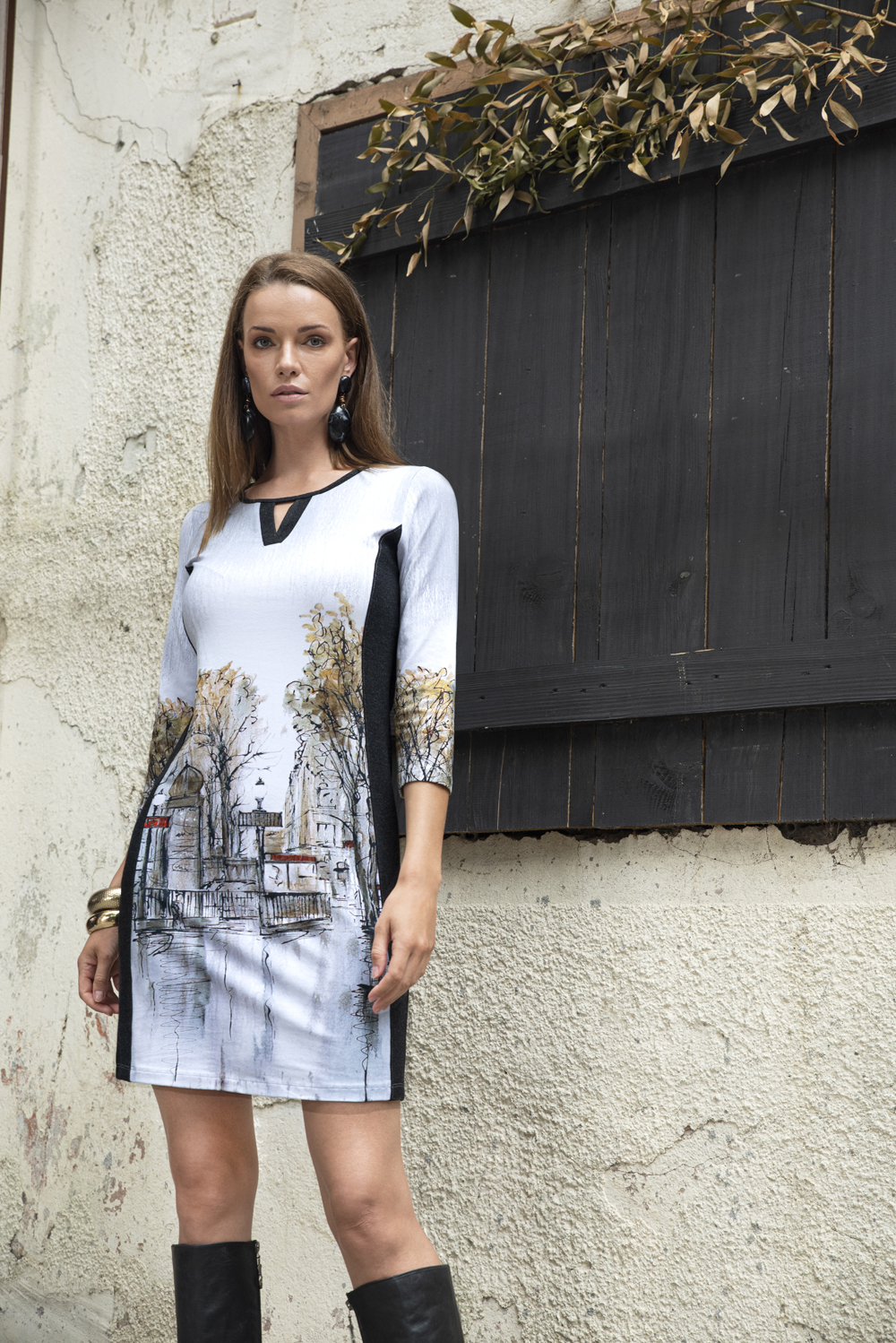Simply Art Dolcezza: Splendid Parisian Life Keyhole Dress/Tunic SOLD OUT Dolcezza_SimplyArt_59705_N