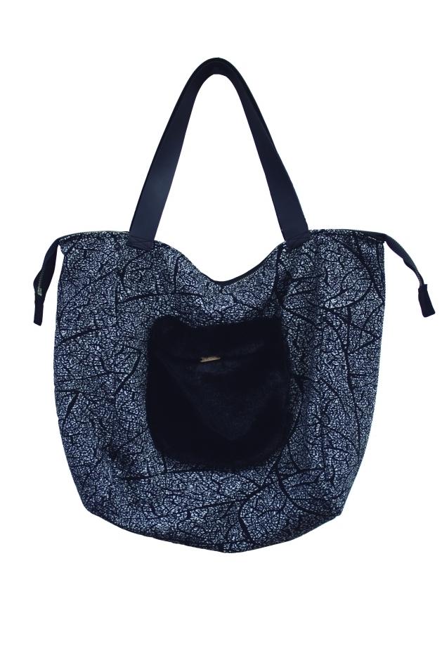 Maloka: Romantic Rainstorm Jacquard Contrast Handbag MK_YANDRA