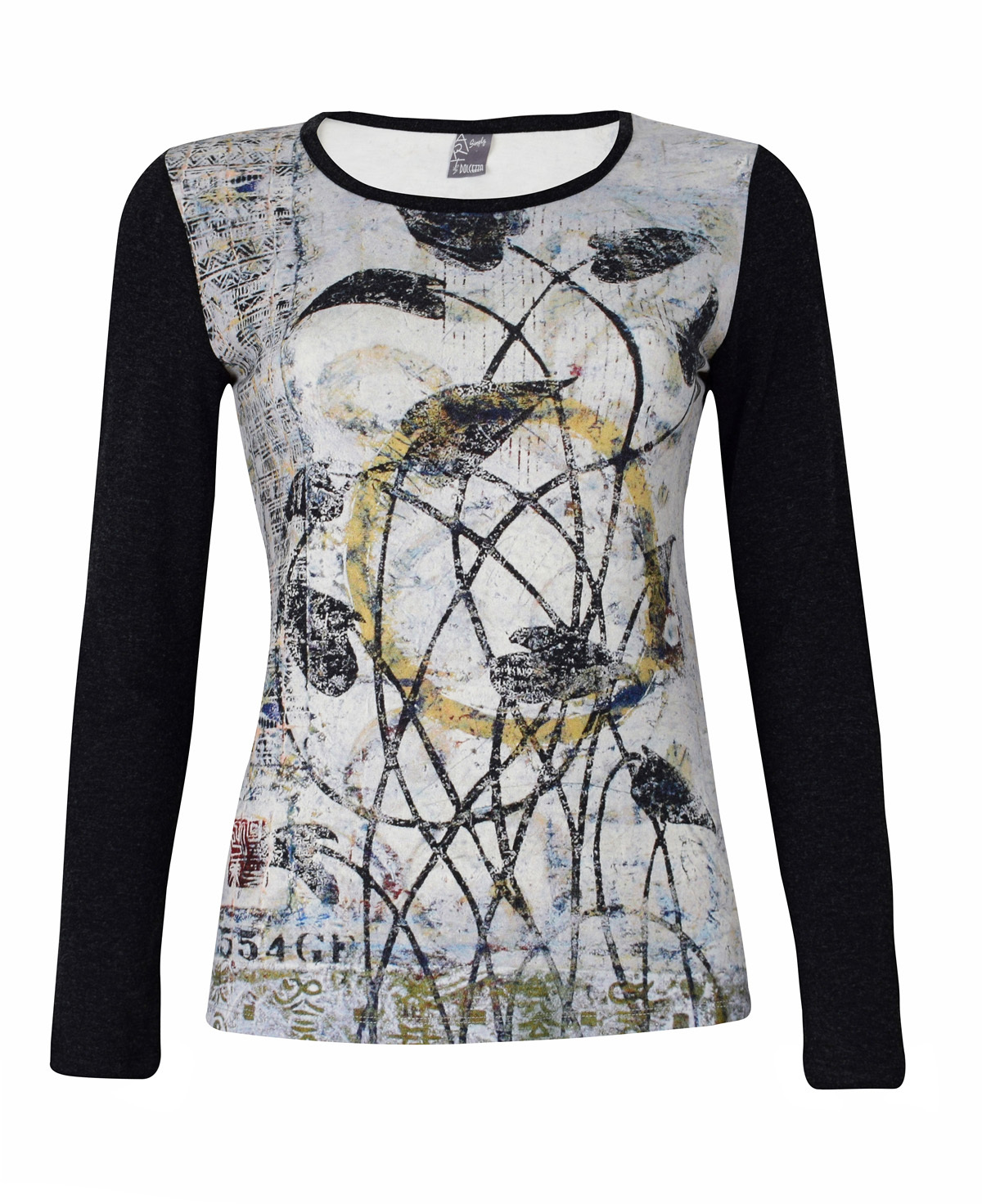 Simply Art Dolcezza: Random Acts Of Petal Beauty Abstract Art Tunic (1 Left!) Dolcezza_SimplyArt_59610