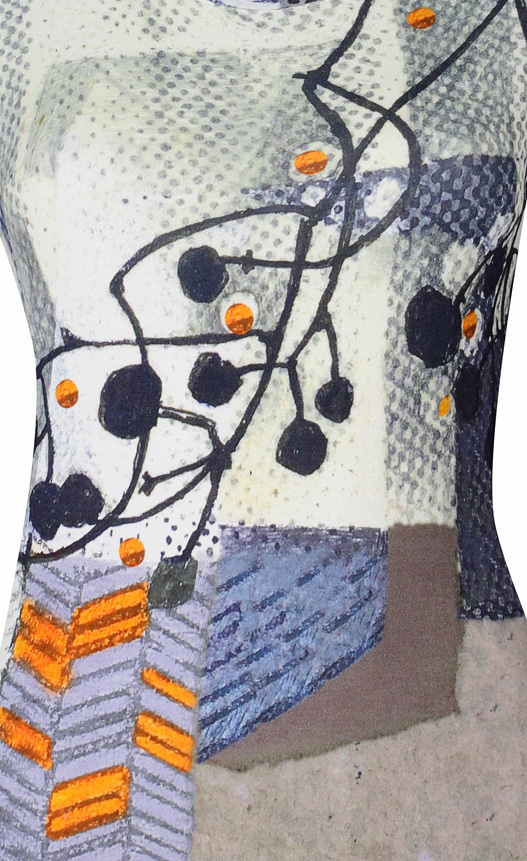 Simply Art Dolcezza: Incredibly Dandy Dragonfly Abstract Art Tunic SOLD OUT