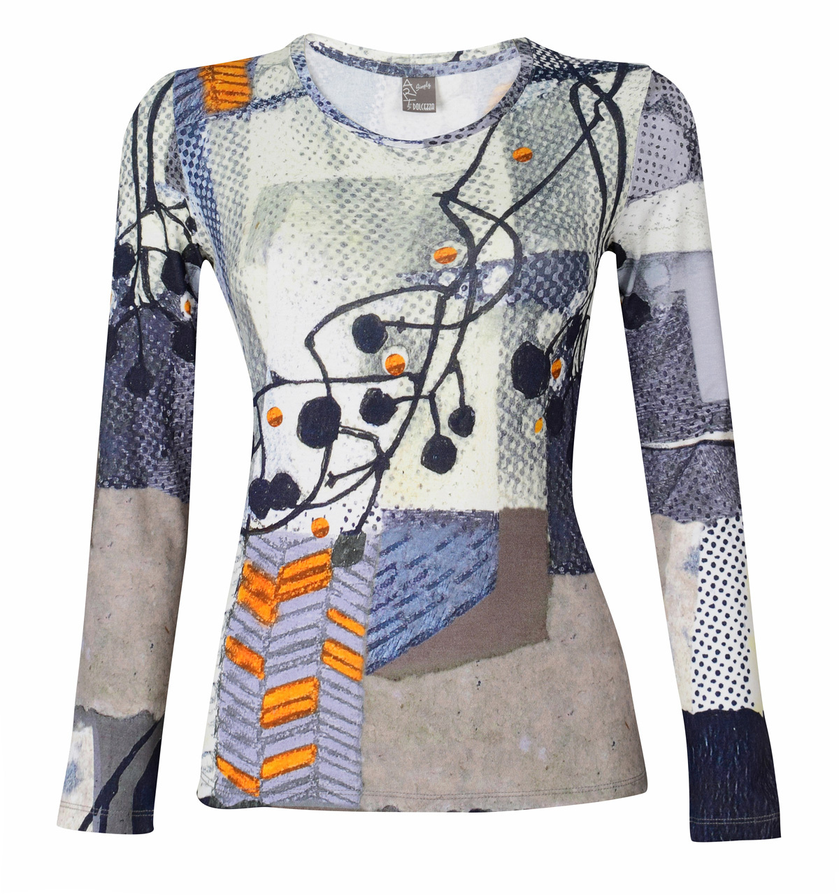 Simply Art Dolcezza: Incredibly Dandy Dragonfly Abstract Art Tunic SOLD OUT Dolcezza_SimplyArt_59690