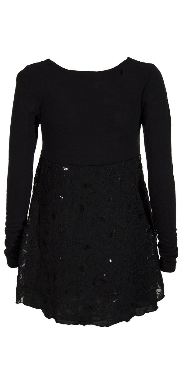 Coline Paris: Magical Shimmer Sweater Tunic