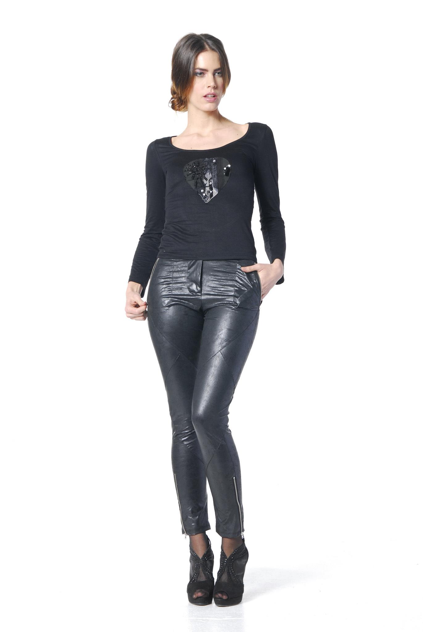 Les Fees Du Vent Couture: Crystal Keyhole Top