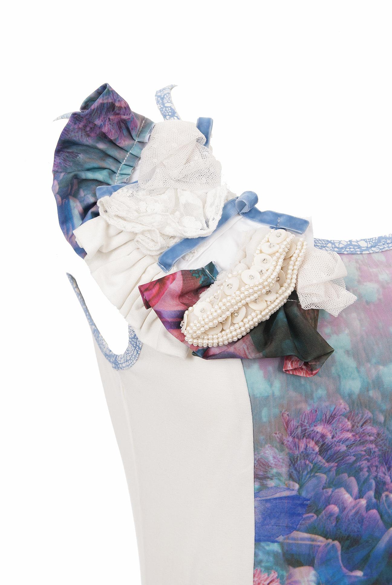 Les Fees Du Vent Couture: Fuschia Fairytale Top