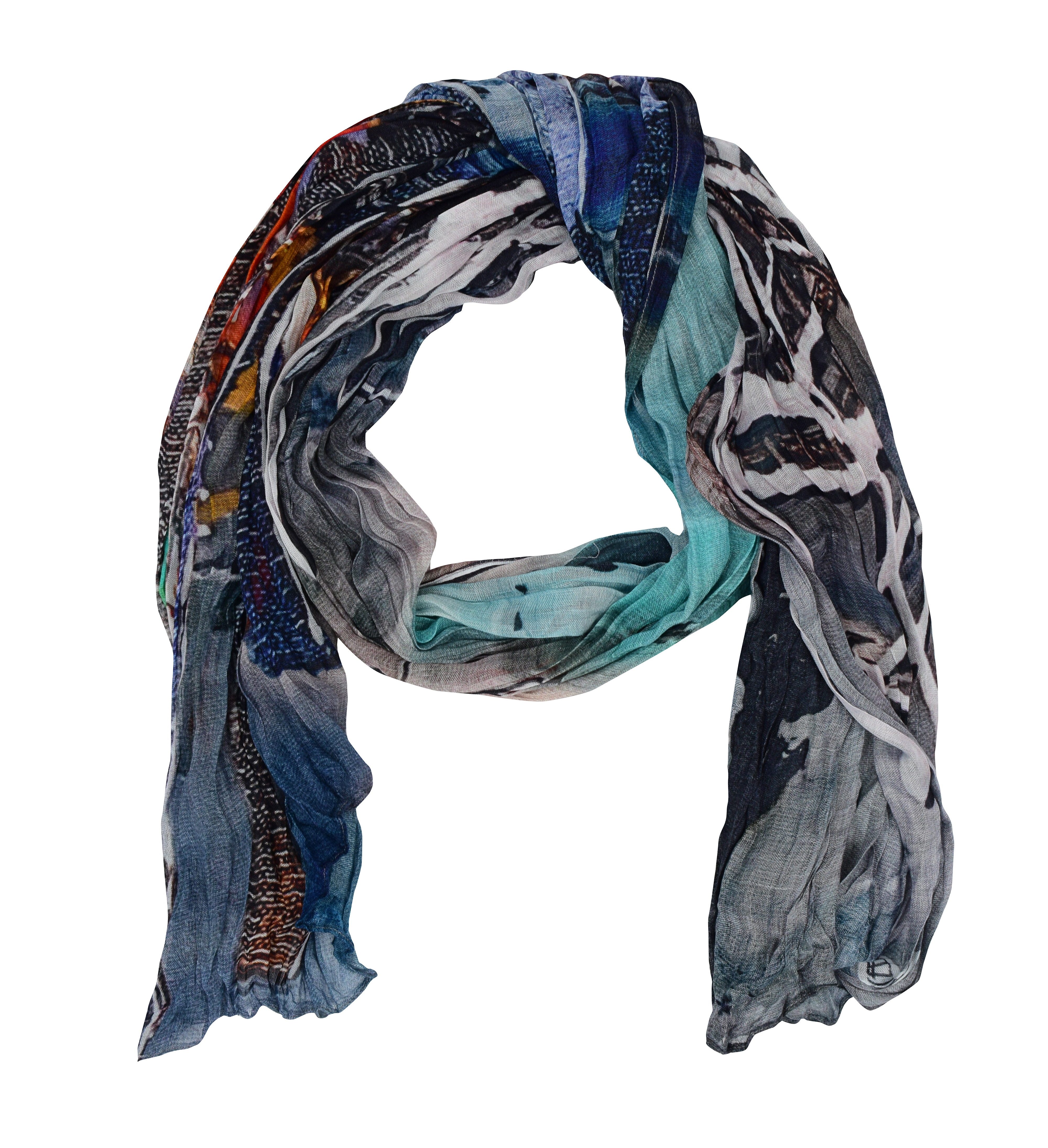 Simply Art Dolcezza: Indeed A Picture Perfect Beach Abstract Art Scarf SOLD OUT