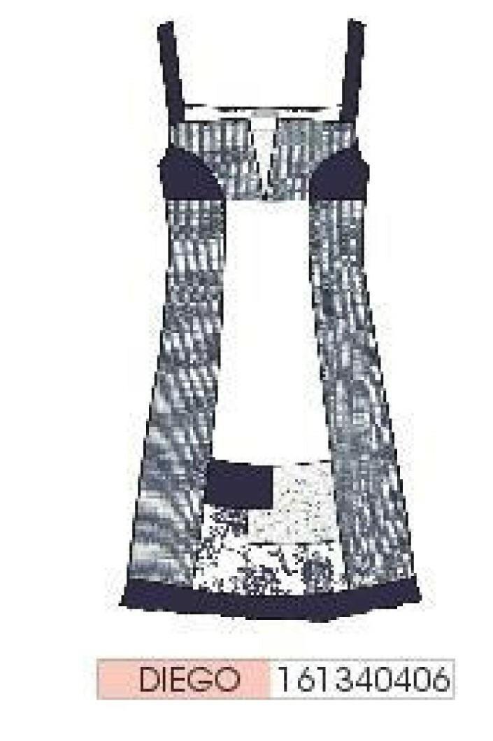 Maloka: Linen Denim Rosette Dress/Tunic (3 Left!)