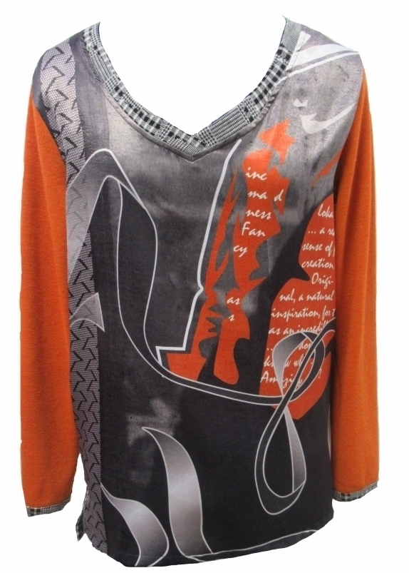 Maloka: Jazz Girl Printed Jacquard Tunic SOLD OUT