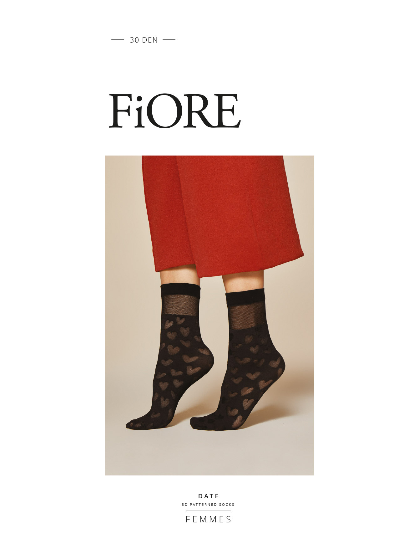 Fiore: Love Cloud Nylon Socks SOLD OUT