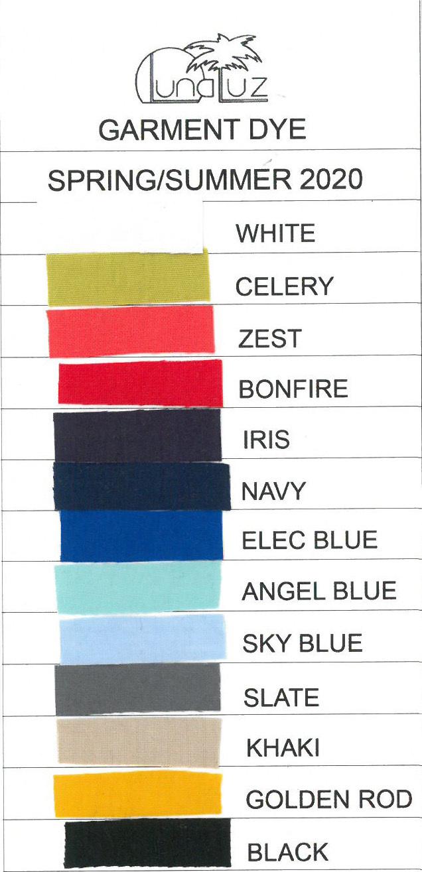 Luna Luz: Tied & Dyed Seersucker Cotton Skirt (More Colors, Ships Immed, Few Left!)