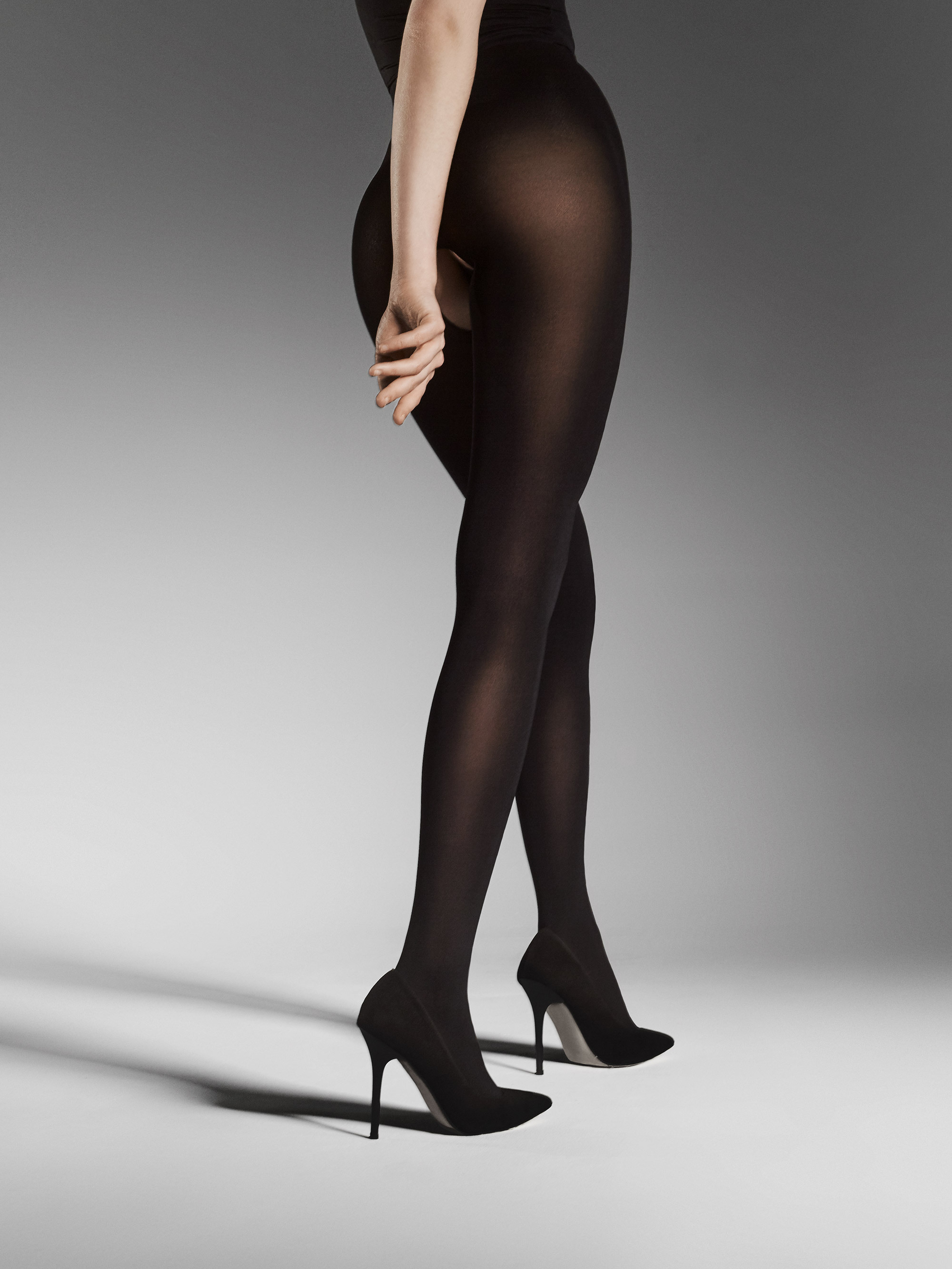 Fiore: I Have A Sexy Secret Open Gusset Opaque Tights (More Arrived!) FIO_OUVERT