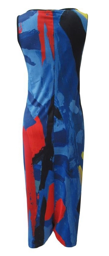 Maloka: Colors Of Picasso's Gypsy Beauty Abstract Art Jumpsuit/Sundress (Few Left!)