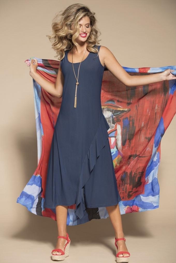 Maloka: Mrs. Crazy Fun Ruffle Dress (More Colors!) MK_KARINA_N