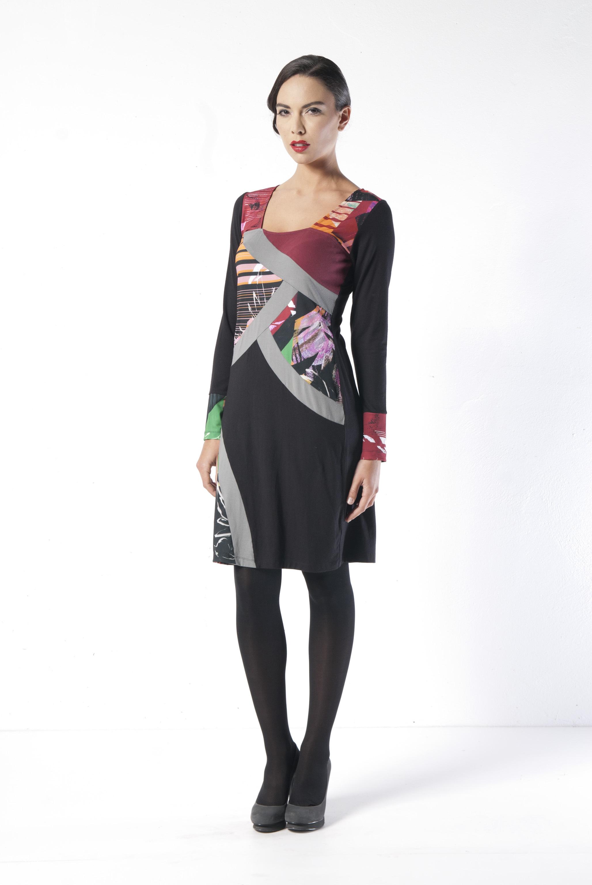 Les Fees Du Vent Couture: Explosion of Color Dress