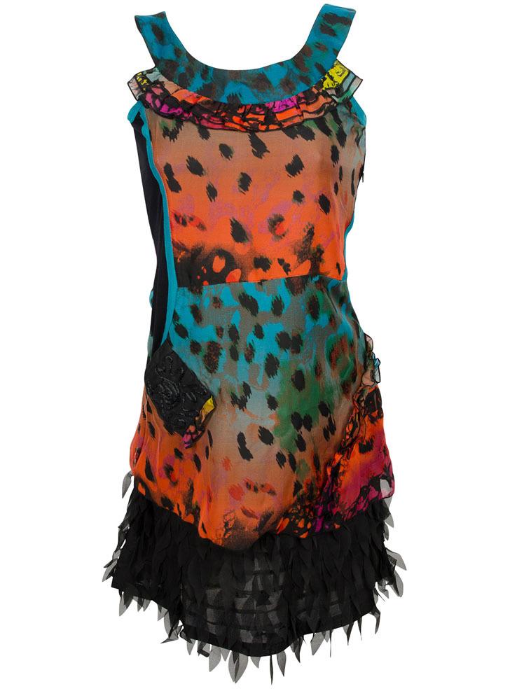 Les Fees Du Vent Feminine Feather Dress