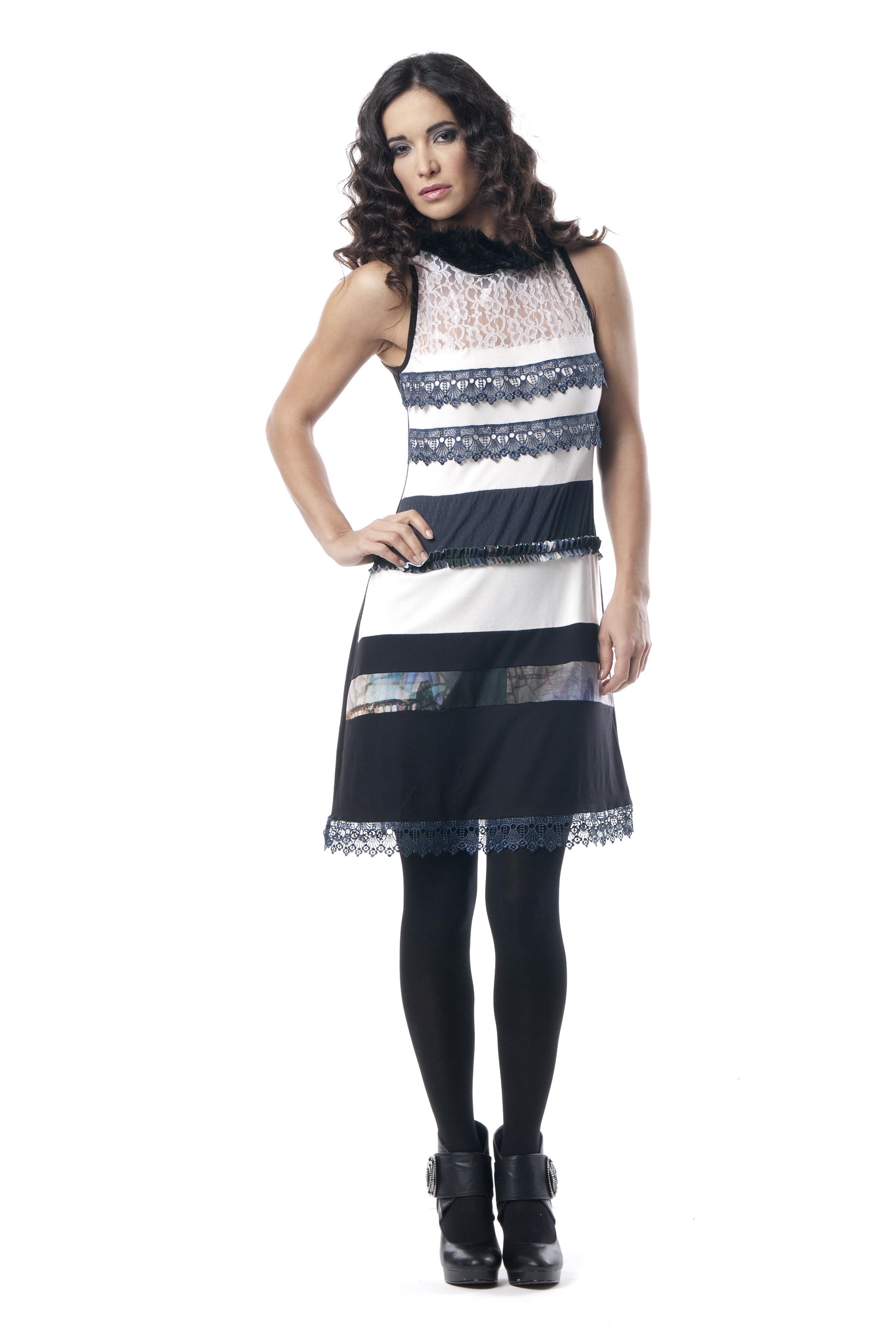 Les Fees Du Vent Couture Collection Lacey Fringe Dress LFDV_887712