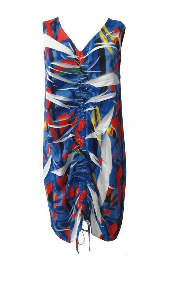 Maloka: Picasso's Gypsy Beauty Abstract Art Drawstring Adjustable Sundress MK_GRACIE