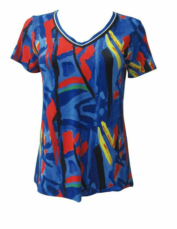 Maloka: Colors Of Picasso's Gypsy Beauty Abstract Art T-shirt